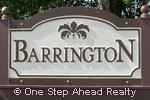 sign for Barrington