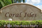 sign for Coral Isles